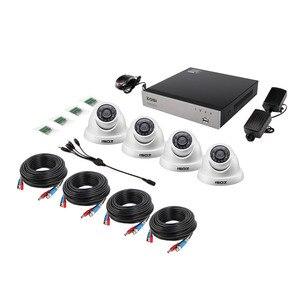Image 2 - ZOSI 4CH מלא 1080P וידאו אבטחת מצלמה מערכת, 4 עמיד 1920TVL 2.0MP מצלמות, 4 ערוץ 1080P HD TVI H.265 DVR עם 1TB