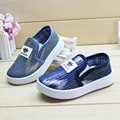 2016 new fall fashion shoes blue canvas shoes boys and girls casual shoes factory direct