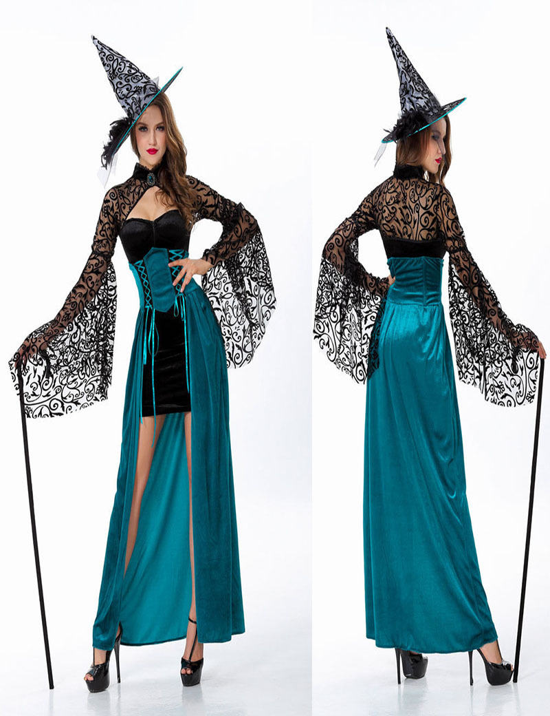 Compare Prices on Blue Witch Costume- Online Shopping/Buy Low ...