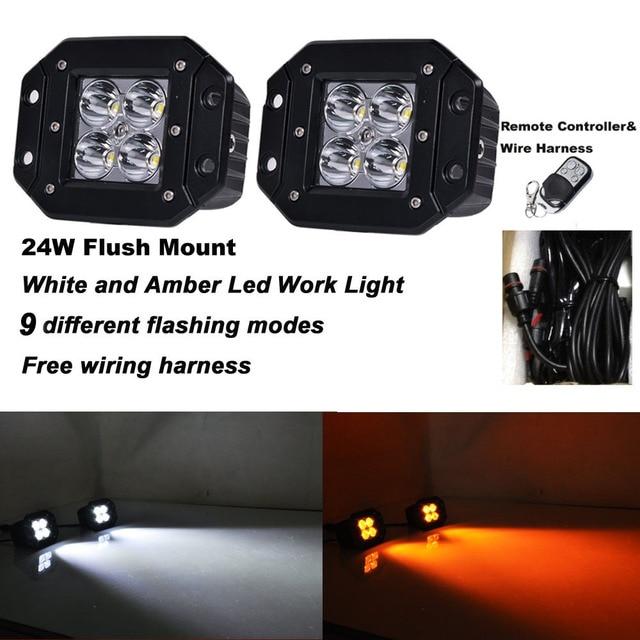 aliexpress com buy honzdda 24w flush mount led work light 12v rh aliexpress com