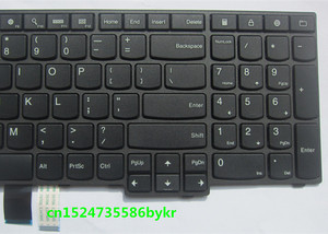 Image 5 - MOUGOL New Original US Keyboard for Lenovo Thinkpad E550 E550C E555 E560 E565 series FRU 00HN000 00HN037 00HN074 PN SN20F22537