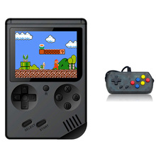 Retro Handheld Classic Game Console F-C System Plus Extra Joystick Video Consoles Built-In 168 Games