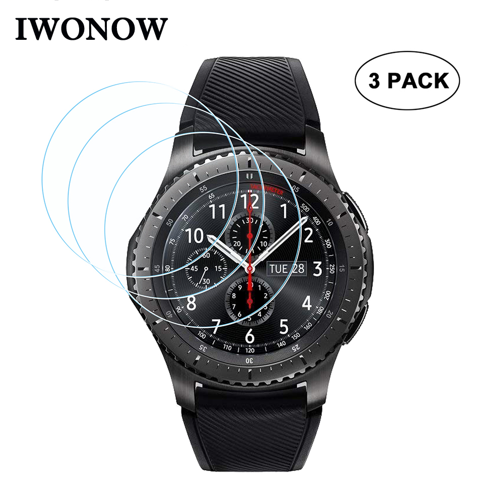 9H Hardness Tempered Glass for Samsung Gear S3 Classic / Frontier SM-R760/R770 Watch Band Screen Protector HD Protective Film9H Hardness Tempered Glass for Samsung Gear S3 Classic / Frontier SM-R760/R770 Watch Band Screen Protector HD Protective Film
