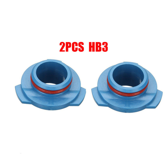2pcs Car LED Halogen Headlight 9005/HB3 Lamp Bulb Base Adapter Sockets Retainer Holder HB3 Replacement