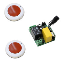 Wireless Remote Switch AC 220V 1 CH 1CH 10A Relay Wireless Power Remote Control Switch Receiver