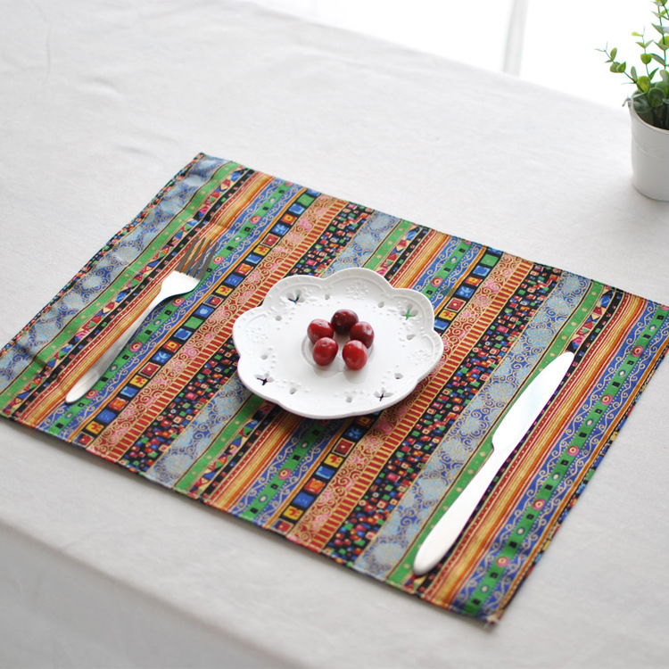 Asian style placemats