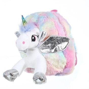 Tas Ransel Anak Boneka Unicorn  4
