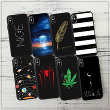 EKDME Printed Pattern Fundas Case For iPhone XS Max 6 6S 5S SE 7 8 Plus X Case Silicon Coque For iPhone XR Case Soft Phone Cover