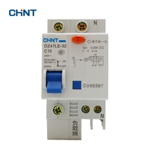 цена на CHINT Earth Leakage Circuit Breaker DZ47LE-32 1P+N C10