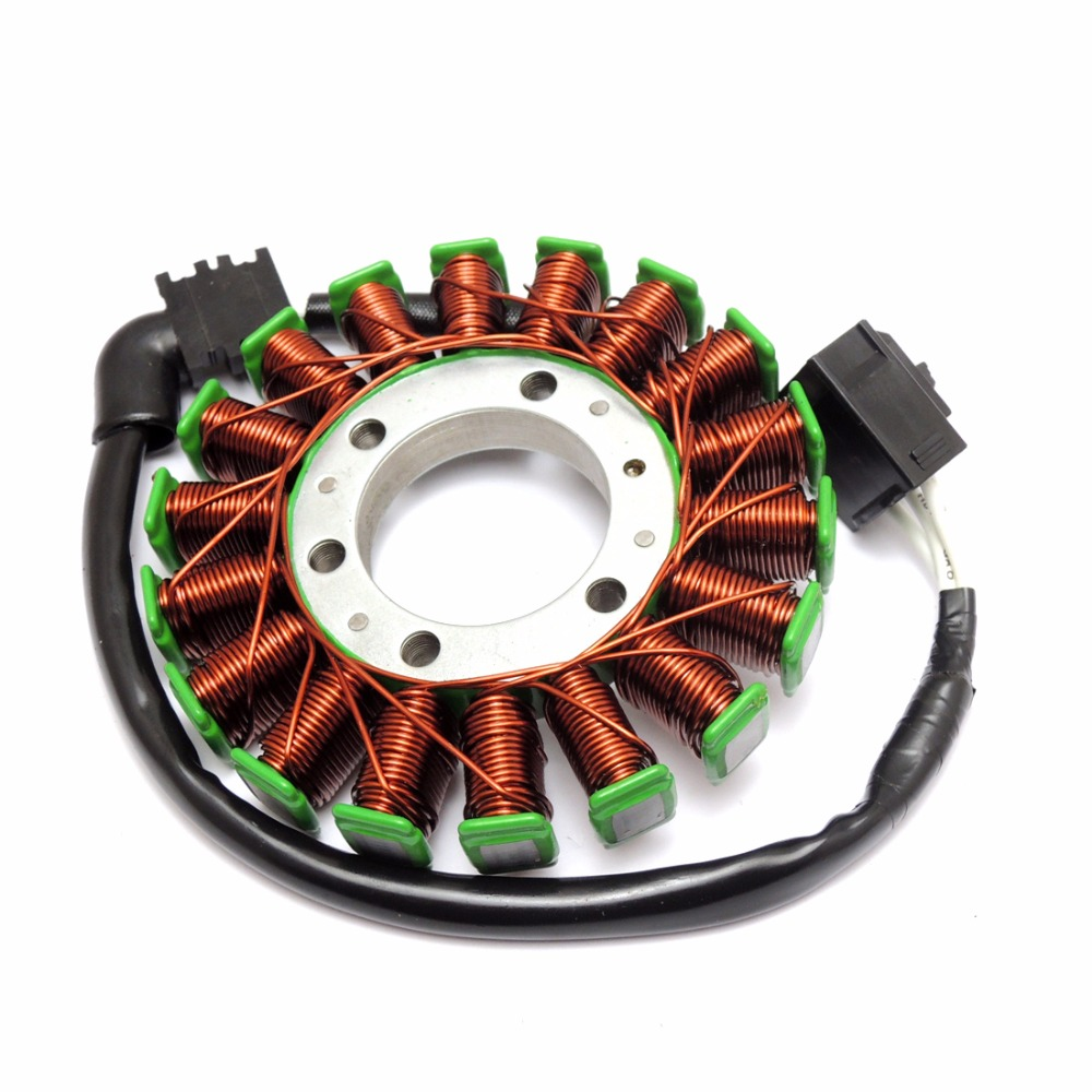 Generator Stator For Yamaha YZF-R6 2006 2007 2008 2009 2010-2014 Generator Magneto after market new stator coil for yamaha yfm550 yfm700 grizzly 2009 2014 10 11 12 13 generator