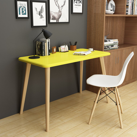 Computer Desks Study Table Office Home Furniture Solid Wood Laptop Stand Notebook Desk Soporte Minimalist Hot 120 60 75 In From