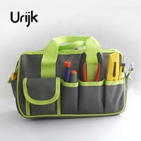 Urijk 2Colors Oxford Zipper Handheld Hand Tool Bag Repair Kit Large Big Tool Bag Waterproof Multifunction