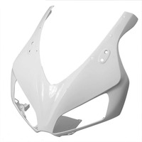 Unpainted White Motorcycle Front Cowl Nose Fairing for Honda CBR1000RR 2006 2007 06 07 Replacement Part