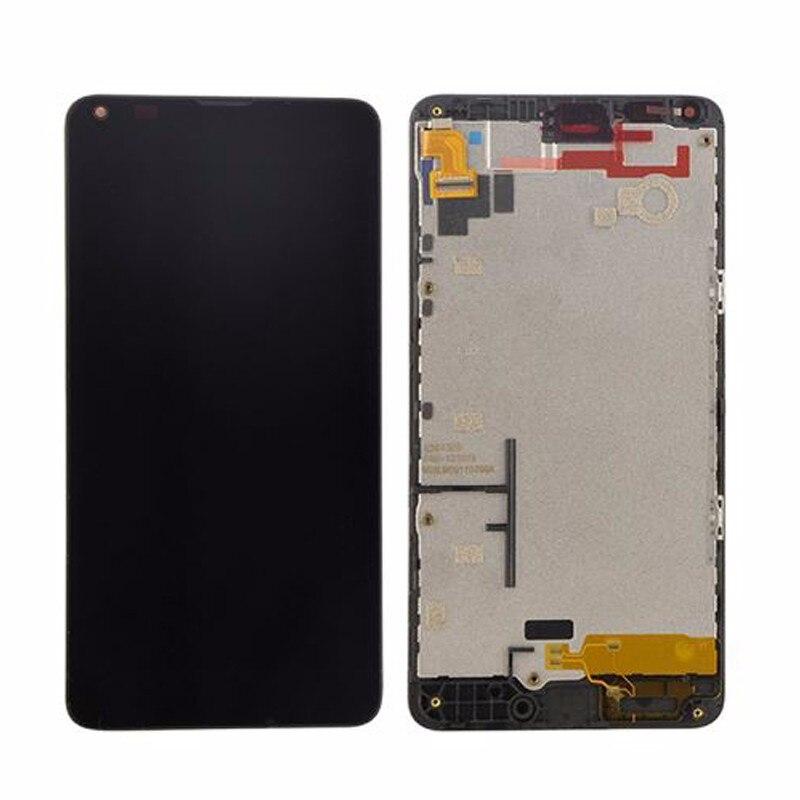 imágenes para Microsoft para Nokia Lumia 640 Pantalla LCD con Pantalla Táctil Digitalizador Asamblea con marco Libre Del Envío