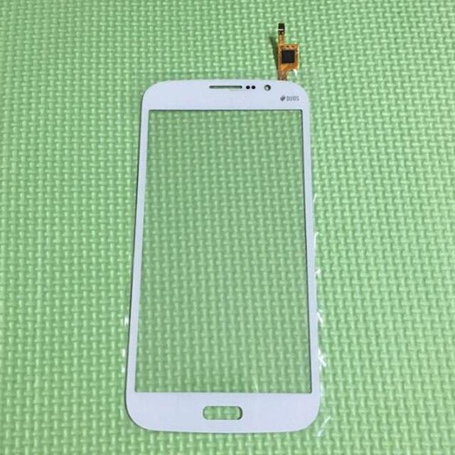 Высокое Качество Переднее Стекло Сенсорная Панель Экрана Планшета Для Samsung i9152 Galaxy Мега 5.8 Сотовый Телефон Запасные Части Белый