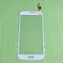 Top Quality Front Glass Sensor Touch Panel Screen Digitizer For Samsung i9152 Galaxy Mega 5.8 Cell Phone Replacement Parts White
