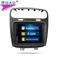 2 Din Android 7.1 Car Radio Head Unit Autoradio Player For Fiat Leap Freemont Dodge Journey Stereo GPS Navigation Magnitol Video