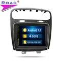 2 Din Android 7,1 coche Radio unidad Autoradio jugador para Fiat salto Freemont Dodge Journey estéreo navegación GPS Magnitol video