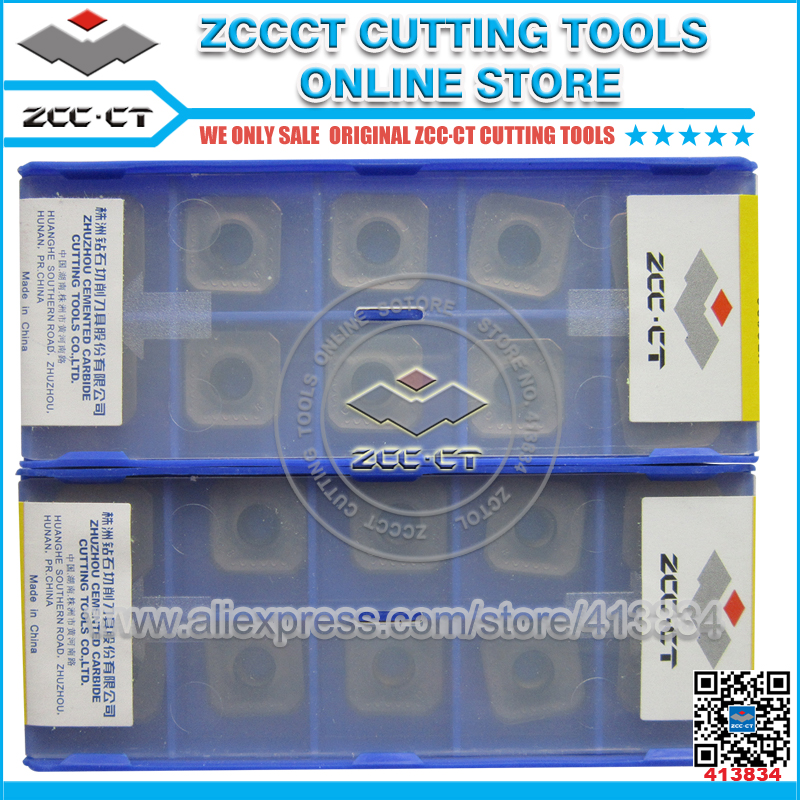 Free Shipping ZCCCT cutting tools cnc milling inserts 1 pack zccct cutting tool cnc milling inserts lathe tools cutter plate 1 pack