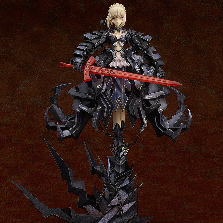 NEW hot 23cm Fate Zero Fate stay night black saber Arturia Pendragon action figure toys collection Christmas gift no box rolecos japanese anime fate stay night altria pendragon cosplay costume fate zero saber arturia pendragon cosplay costume