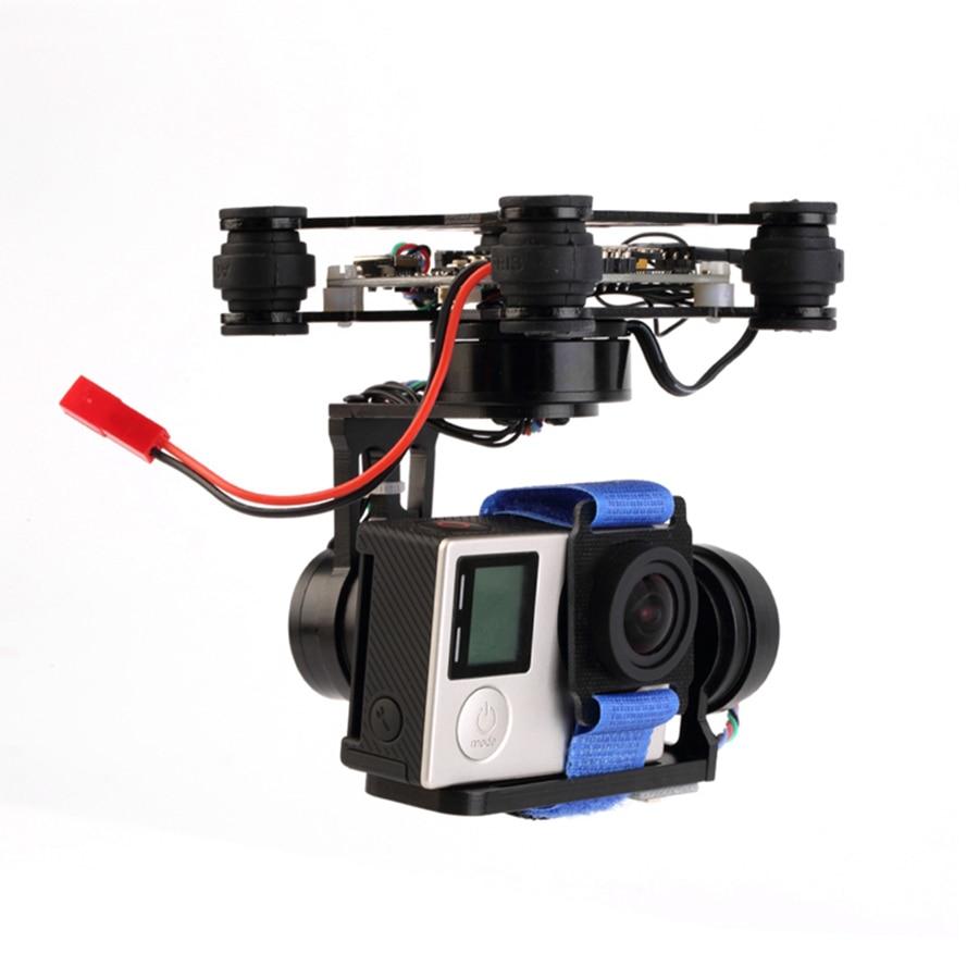 Cardan sans balais 3 axes Storm32 Controlller léger FPV cardan plug and play pour GoPro Hero 3 4 F450 F550 photographie aérienne