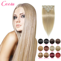 Natural Hair Clip Extensions Ins Silky Straight Remy Clip In Hair Extension 10 Pieces Set Human Hair Clip Ins 16 To 26 Inches