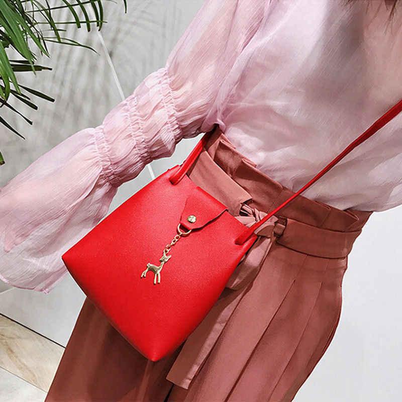 2019 Terbaru Fashion Wanita Tas Bahu Tas Tote Dompet Tas Wanita