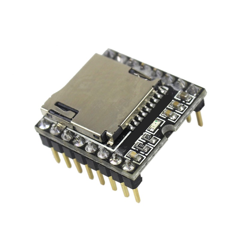 Free shipping 1PCS Mini MP3 Player Module TF Card U Disk Mini MP3 Player Audio Voice Module Board For Arduino DF Play free shipping output 5v mini bluetooth wireless mp3 decoder board audio module usb tf card durable electronic modules board