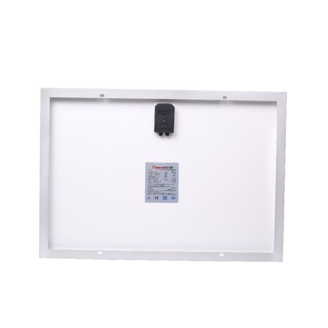 DOKIO 18V 40W Polycrystalline Solar Panel 460*660*25mm Silicon Power Painel Top Quality Solar Battery china Solar Fotovoltaico 4