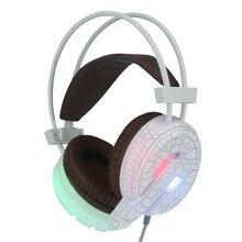 Professional игровая гарнитура светодиодный фонарик проводные наушники с микрофоном H6 Oct13 Прямая доставка O16