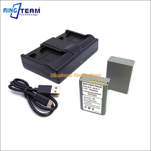 Big sale 2x BLN-1 BLN1 Battery & 1x USB Dual Charger (3-In-1) for Olympus Digital Cameras OM-D E-M5 II 2 E-M1 PEN E-P5