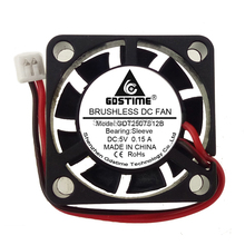 100 PCS Gdstime 1.25 Connector 25x25x7mm DC 5V 2-Pin 25mm Cooler Brushless Chipset Heatsink Mini Cooling Fan 2507 цена