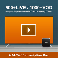 Apkintvbox Malaysia Hao HD IPTV Yearly Subscription Singapore Chinese Channels for Android Smart TV Box