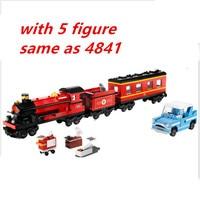 Lepin 16031 Harry Potter Hogwarts Train Express 724pcs Building Blocks Bricks Educational DIY Toys For Children