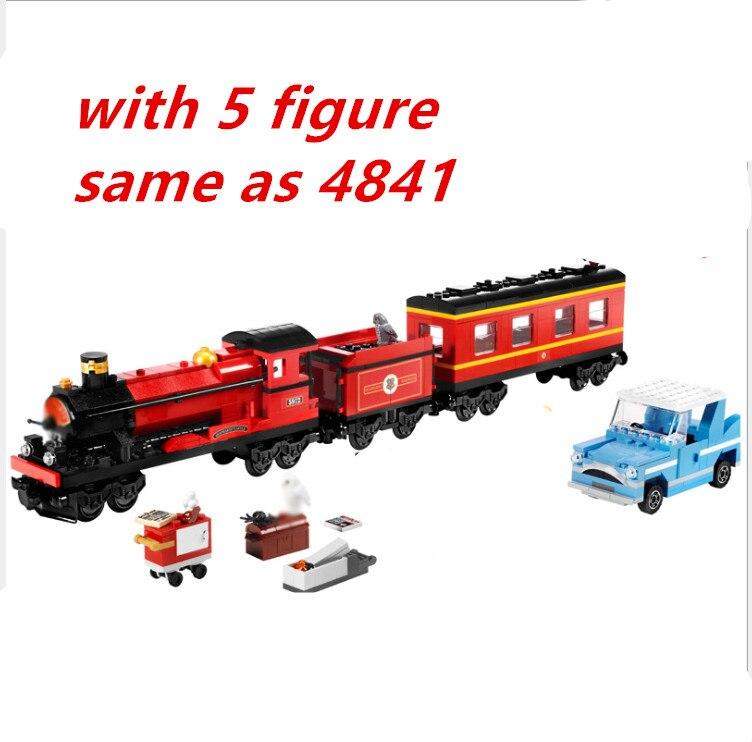 Lepin Harry Potter Hogwarts train Express 16031 724pcs Building Blocks Bricks Educational DIY Toys for Children compatible 4841 harry potter ollivanders dumbledore the elder wand in box prop replica