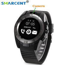 SMARCENT Bluetooth Smart Watch SW007 With Camera Pedometer Wearable Devices Support Sim TF card Men Smartwatch for Android Phone
