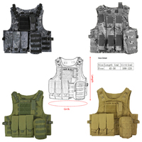 Outdoor Military Tactical Vest Body Molle Combat Assault Plate Carrier CS Outdoor Clothing Jungle Equipment Hunting Vest