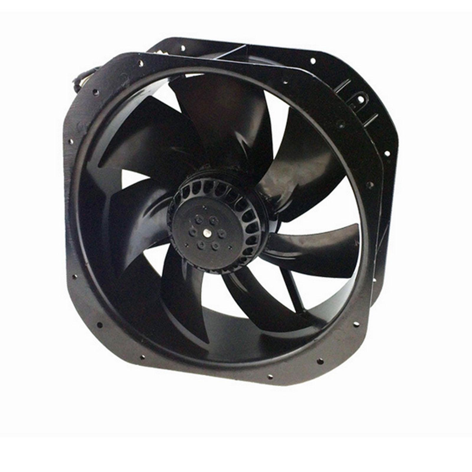 220V AC 280x280x80mm Axial Radiator Fan 1341CFM 2400RPM Ball Bearing High Speed