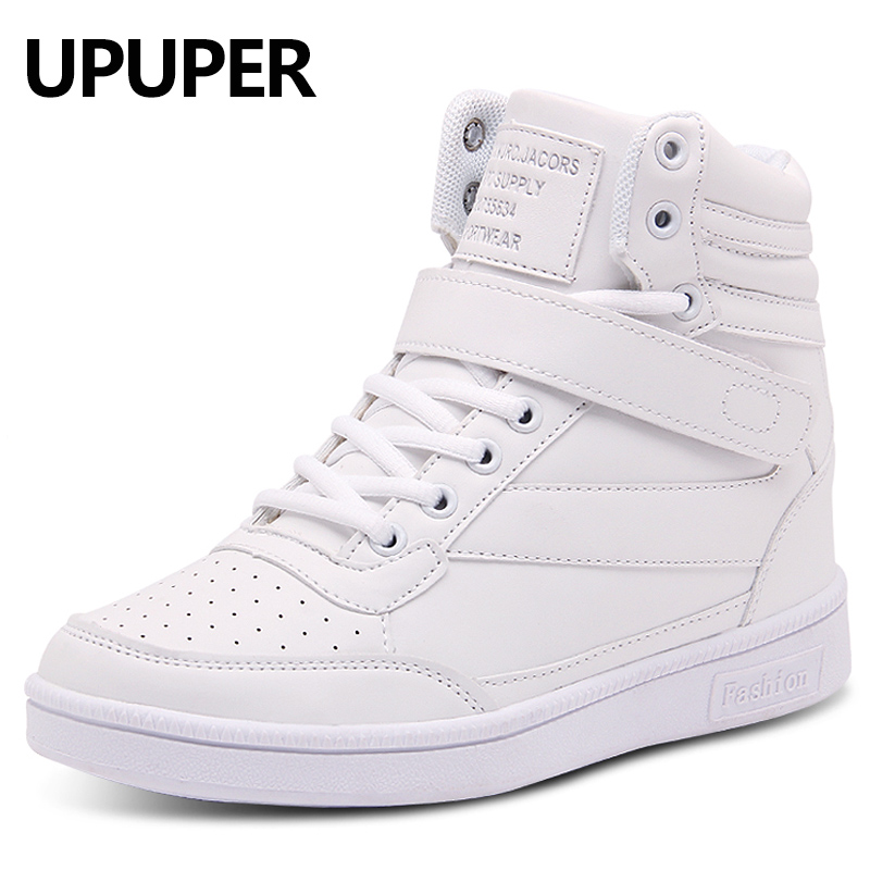 UPUPER Height Increasing Womens Boots 2019 New Fashion Spring And Winter Wedge Boots For Women PU Leather Ladies Shoes With FurUPUPER Height Increasing Womens Boots 2019 New Fashion Spring And Winter Wedge Boots For Women PU Leather Ladies Shoes With Fur