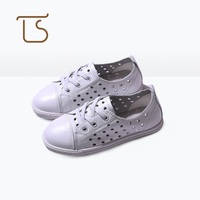 T S Kids Shoes 2017 New Slip On Anti Slip Real Leather Children S Sports Shoes
