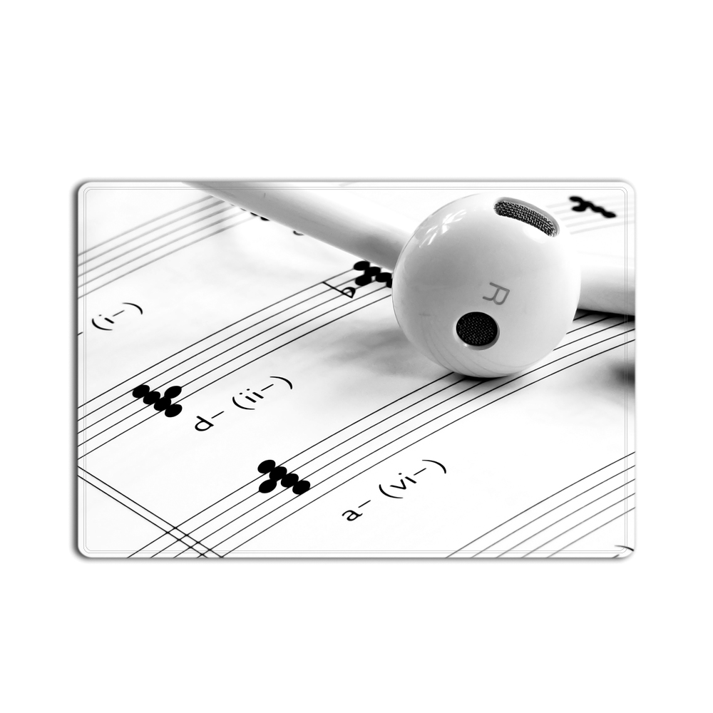 Artwork With Music Notes Rhythm Song Ornamental Vibrant Colors ...