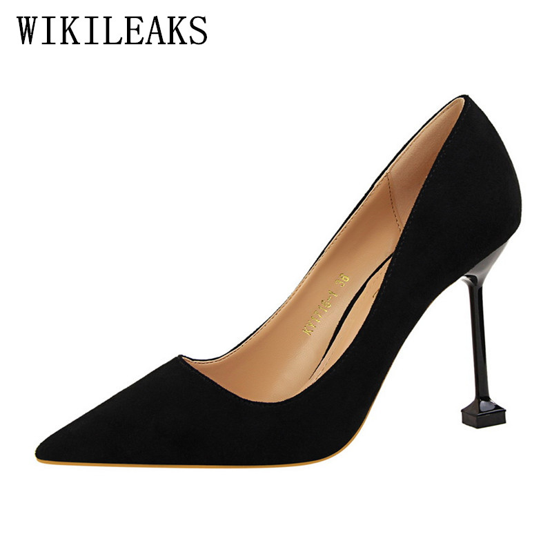 2017red high heels women designer bigtree shoes 2018 suede ladies wedding shoes bridal stiletto shoes sexy pumps valentine shoes genshuo 2017 women sexy valentine pointed toe stiletto high heels shoes ladies wedding dress bridal designer pumps zapatos mujer