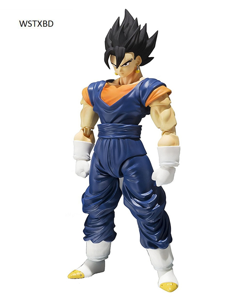 WSTXBD Original BANDAI Dragon Ball Z Super S.H. Figuarts SHF Vegetto Goku Vegeta PVC Figure Brinquedos Dolls Toys Figurals new original dragon ball z dbz blue god vegetto final pvc figure toys figurals model kids dolls