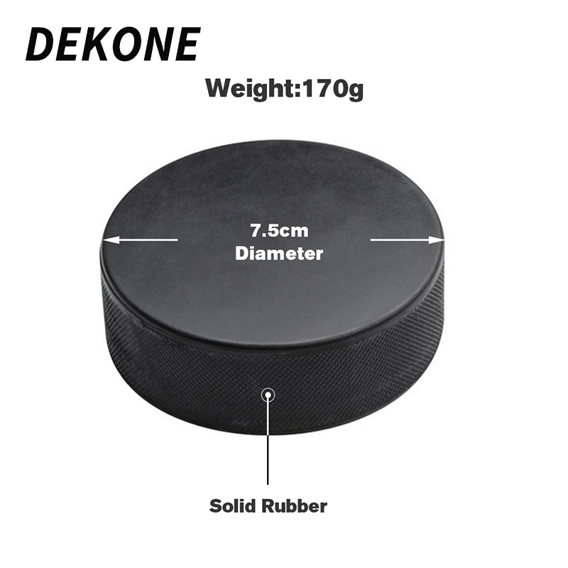 Ice Hockey Puck Winter Professional Hockey Training Official 6 Oz International Official Weight Size For Roller Inline Hockey