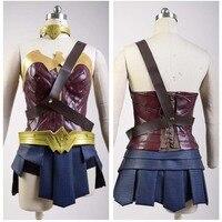 Diana Prince Wonder Woman Cosplay Costume Adult Batman V Superman Dawn of Justice Cosplay Costume Wonder Woman Suit Custom Made
