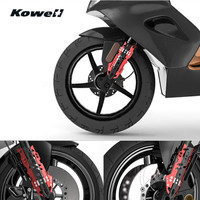 KOWELL Universal Motorcycle Front Shock Absorber Decorative Parts Spring Buffer Damping Bumper Power Cushion Scooter Personality