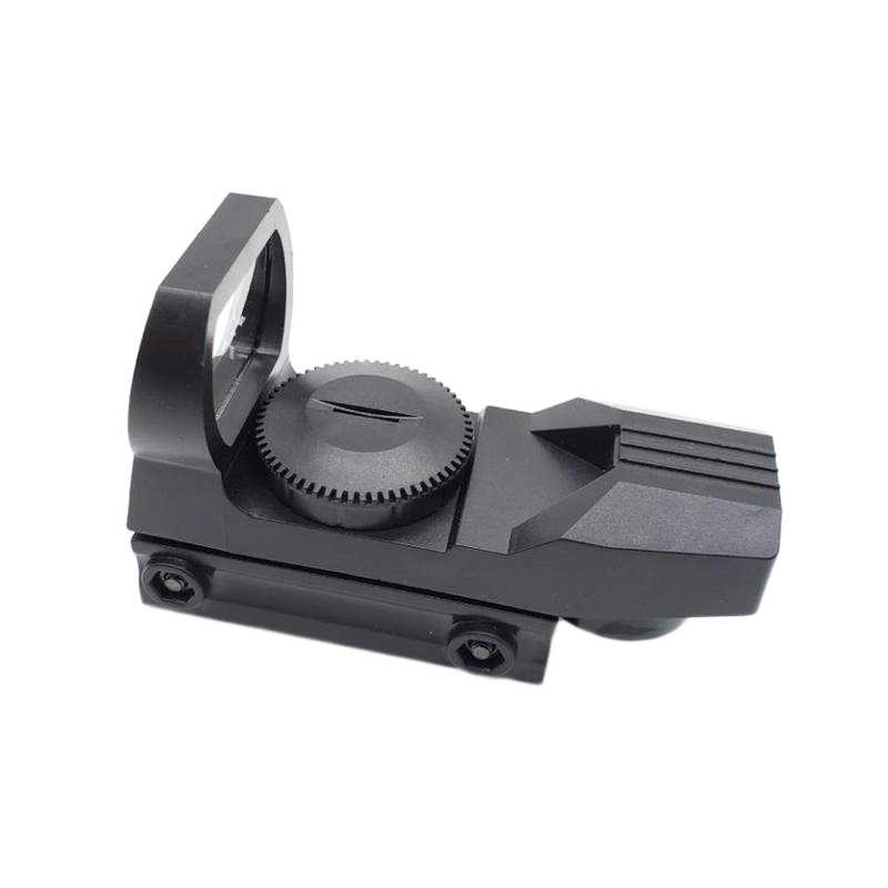 20mm פלסטיק Rail Riflescope ציד אופטיקה הולוגרפי ירוק Dot Sight רפלקס Reticle טקטי היקף Collimator Sight זרוק ספינה