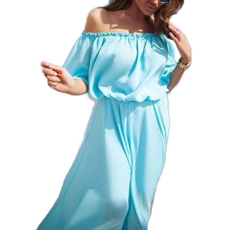 Home Products Evening Dresses Women Summer Beach Dresses Boho Evening ...