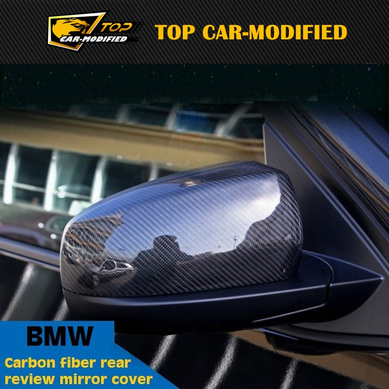 Free shipping 09~14 X6 M Style Carbon Fiber Door Mirror,Side Mirror Housings,Rear view car Mirror For BMW X6