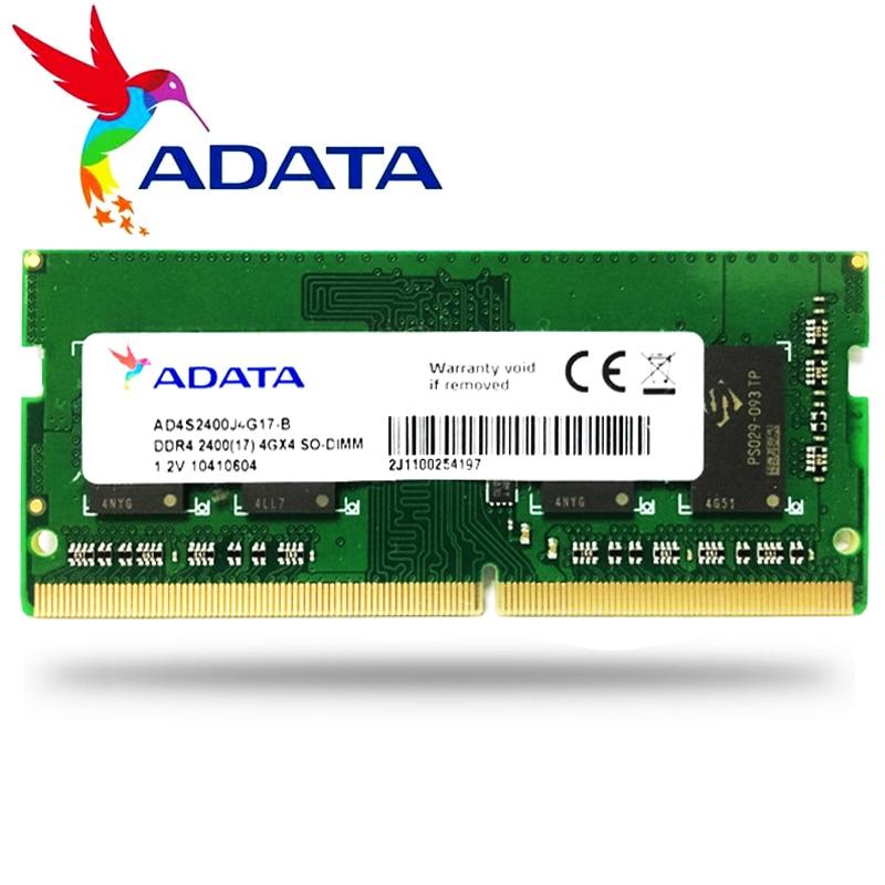 ADATA NB 4GB GB 4G 8 8G Laptop notebook Computador do Módulo de Memória RAM Memoria PC4 DDR4 2666 2400MHZ 2666 mhz 2400 MHz RAM